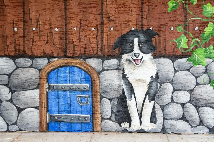 domek-malowany-dekoracja-fasady-przedszkole-2
