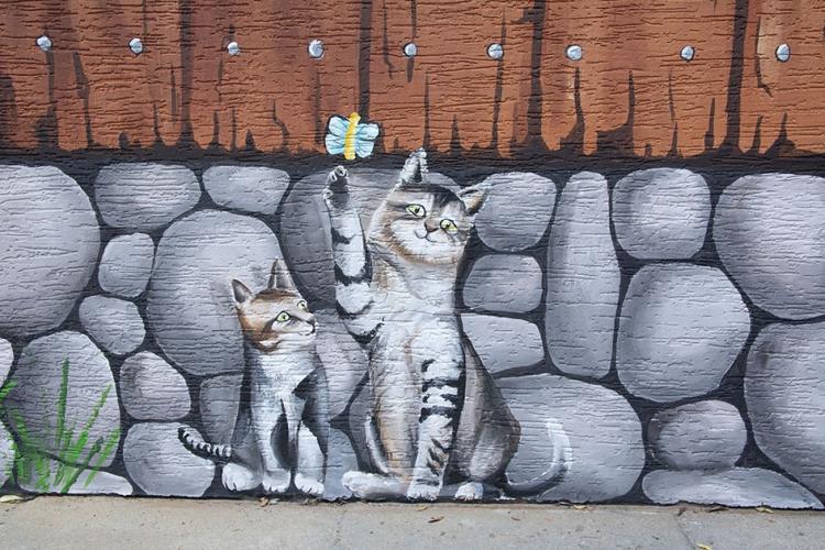 domek-malowany-dekoracja-fasady-przedszkole